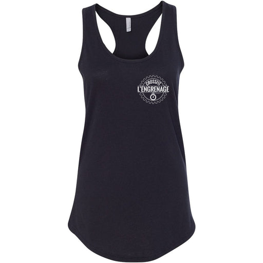 CrossFit L'Engrenage - 100 - Pocket - Next Level - Women's Ideal Racerback Tank
