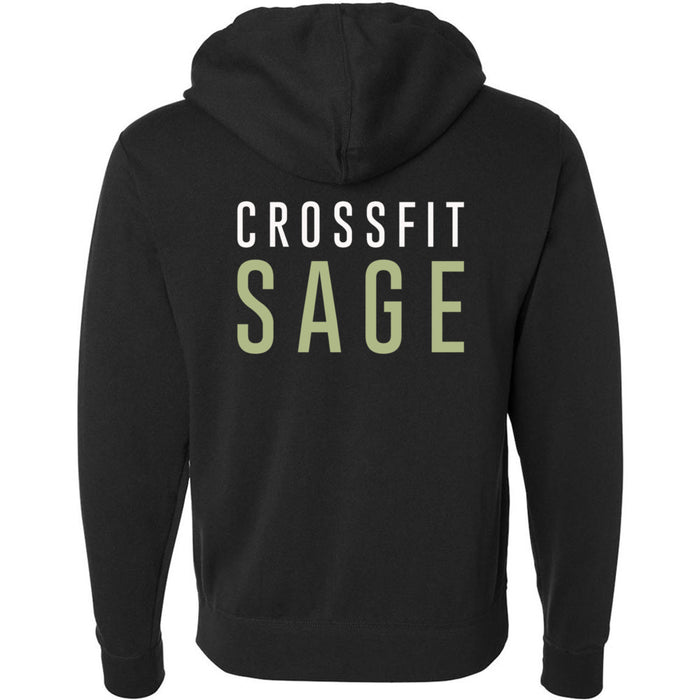 CrossFit Sage - 201 - CFS - Independent - Hooded Pullover Sweatshirt