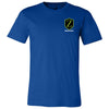 Warriorz CrossFit - 100 - Pocket Size - Bella + Canvas - Men's Short Sleeve Jersey Tee