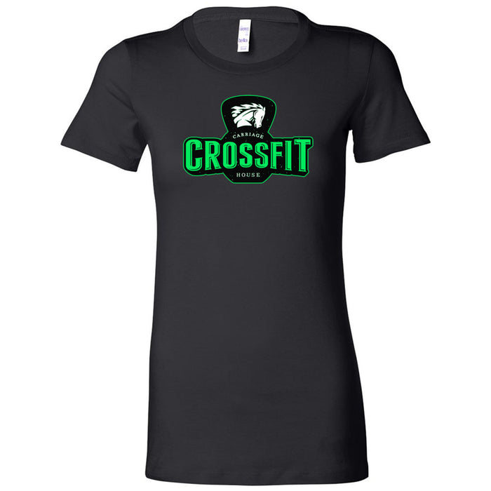 Carriage House CrossFit - 100 - Green - Bella + Canvas - Women's The Favorite Tee