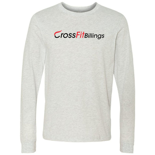 CrossFit Billings - 100 - Standard - Bella + Canvas 3501 - Men's Long Sleeve Jersey Tee