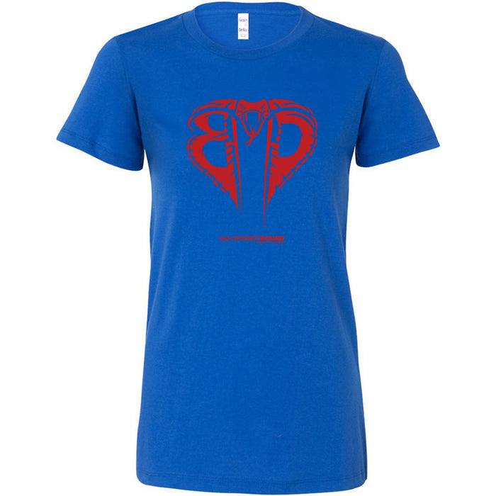 CrossFit Bound - 100 - Cobra Red - Bella + Canvas - Women's The Favorite Tee