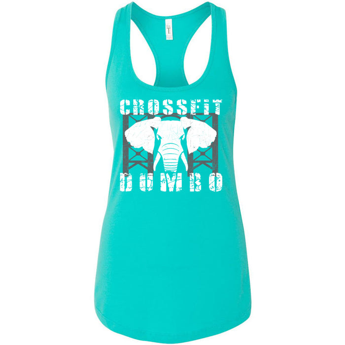 CrossFit Dumbo - 100 - Standard - Next Level - Women's Ideal Racerback Tank
