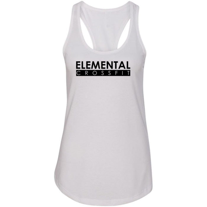 Elemental CrossFit - 100 - One Color - Next Level - Women's Ideal Racerback Tank
