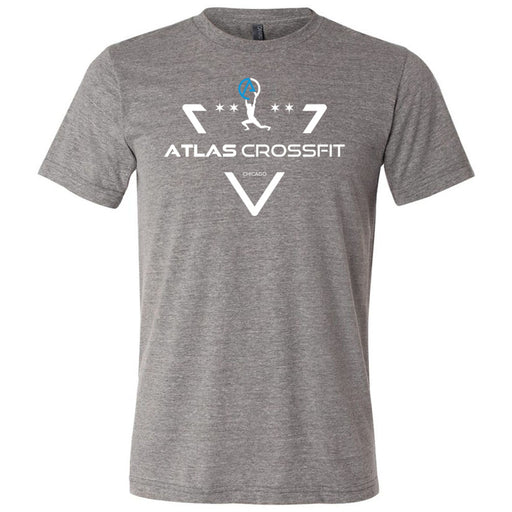 Atlas CrossFit - 100 - Crest - Bella + Canvas - Men's Triblend Short Sleeve Tee