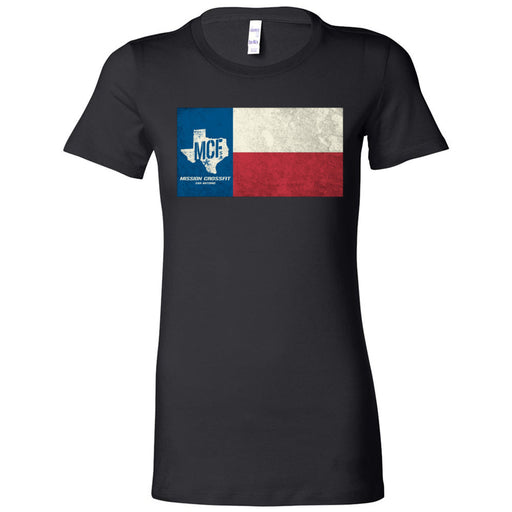 Mission CrossFit San Antonio - 100 - Flag - Bella + Canvas - Women's The Favorite Tee