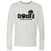 CrossFit Poipu - 100 - Standard - Bella + Canvas 3501 - Men's Long Sleeve Jersey Tee