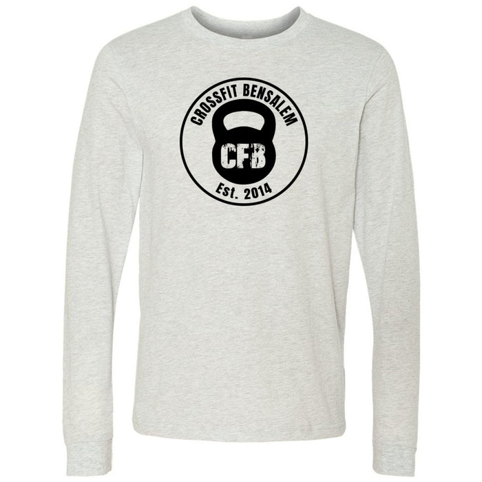 Crossfit Bensalem - 100 - Standard - Bella + Canvas 3501 - Men's Long Sleeve Jersey Tee