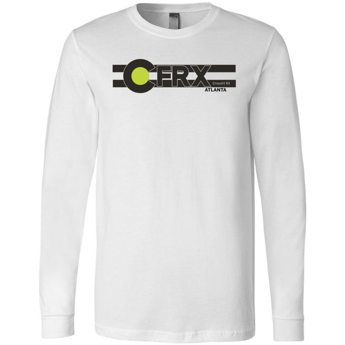 CrossFit Rx - 100 - Atlanta - Bella + Canvas 3501 - Men's Long Sleeve Jersey Tee