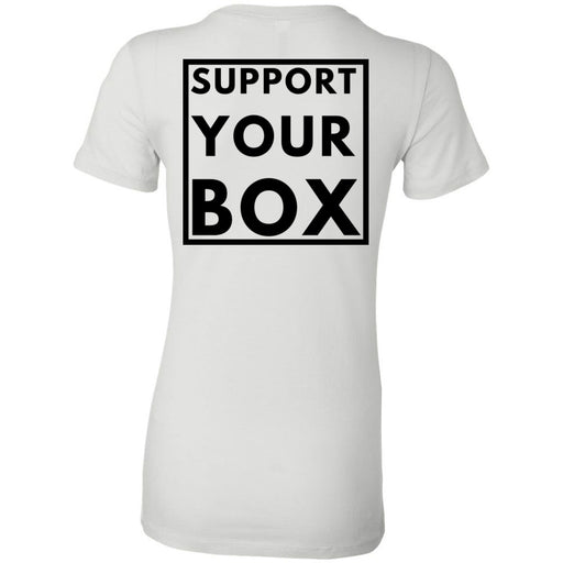 Hub City CrossFit - 200 - Support Your Box - Bella + Canvas - Women's The Favorite Tee