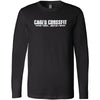 Caged CrossFit - 100 - Standard - Bella + Canvas 3501 - Men's Long Sleeve Jersey Tee