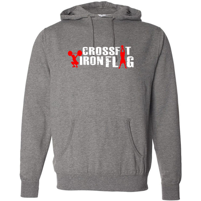 CrossFit Iron Flag - Standard - Independent - Hooded Pullover Sweatshirt