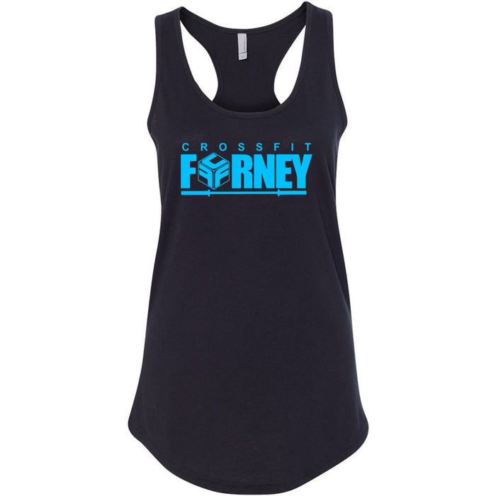 CrossFit Forney - Blue - Next Level - Women's Ideal Racerback Tank