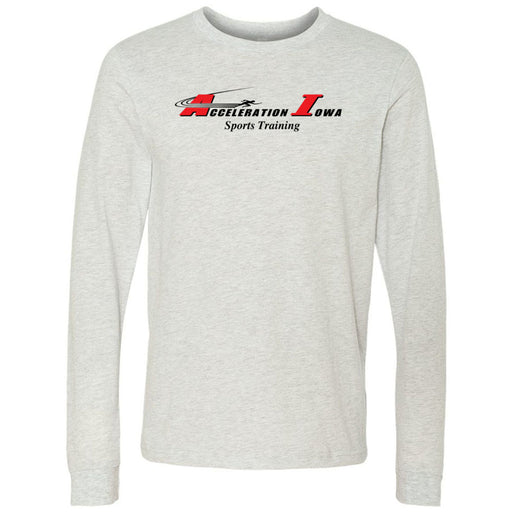 CrossFit Waukee - 202 - Acceleration Iowa - Bella + Canvas 3501 - Men's Long Sleeve Jersey Tee
