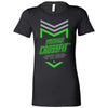 Made2Live CrossFit - 200 - 2020 Open Neon Gray - Bella + Canvas - Women's The Favorite Tee