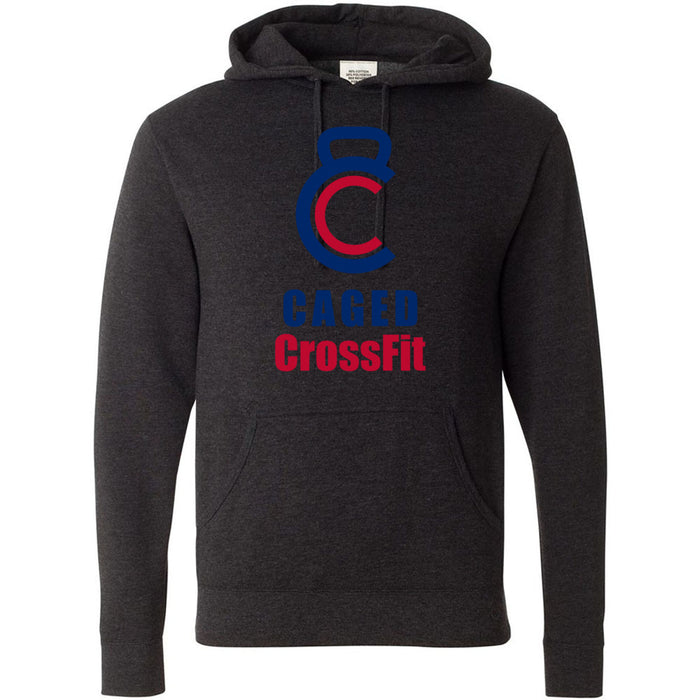 Caged CrossFit - 100 - Standard - Independent - Hooded Pullover Sweatshirt