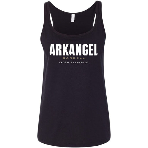 CrossFit Camarillo - 100 - Stacked - Bella + Canvas - Women's Relaxed Jersey Tank