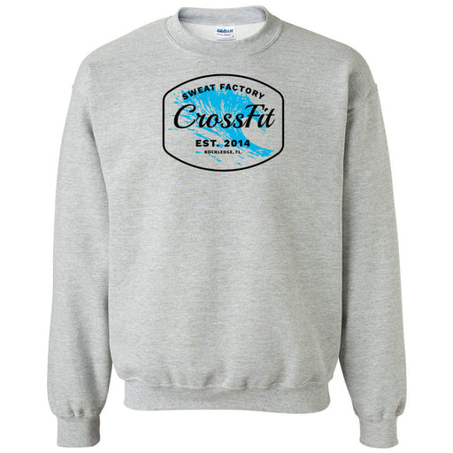 Sweat Factory CrossFit - Rockledge - 100 - KK4 - Gildan - Heavy Blend Crewneck Sweatshirt