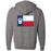 CrossFit Beaumont - 201 - Flag - Independent - Hooded Pullover Sweatshirt