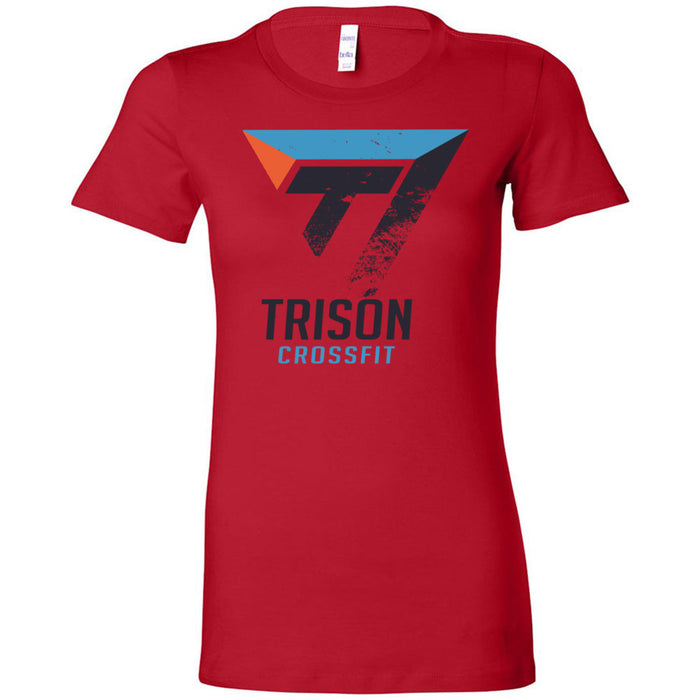 Trison CrossFit - 100 - Distressed - Bella + Canvas - Women's The Favorite Tee
