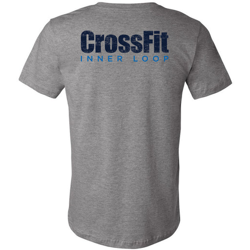 CrossFit Inner Loop - 200 - Round - Bella + Canvas - Men's Short Sleeve Jersey Tee