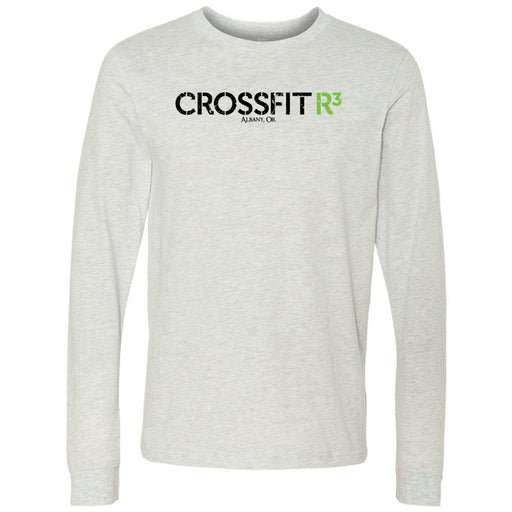 CrossFit R3 - 100 - Standard - Bella + Canvas 3501 - Men's Long Sleeve Jersey Tee