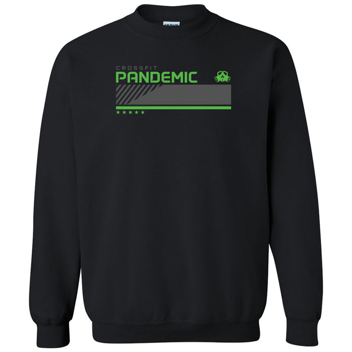 CrossFit Pandemic - 201 - Green - Gildan - Heavy Blend Crewneck Sweatshirt