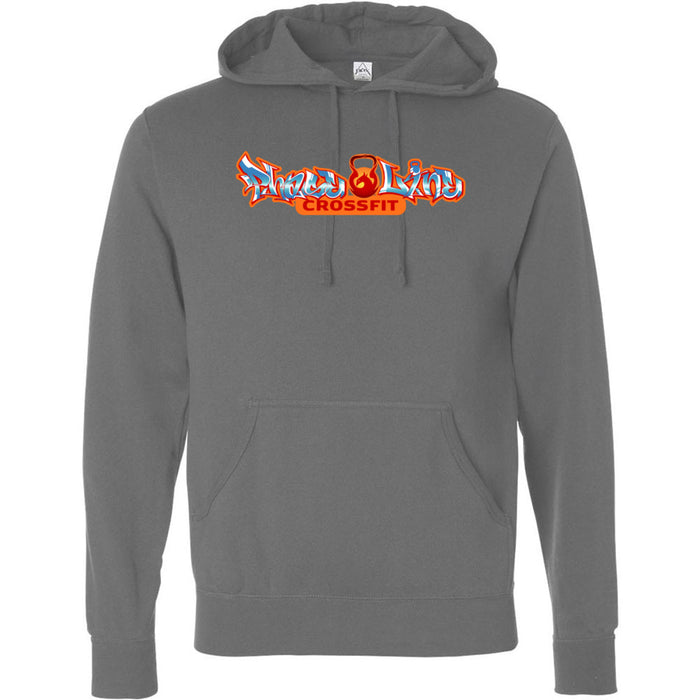 PhaseLine CrossFit - 100 - Graffiti - Independent - Hooded Pullover Sweatshirt
