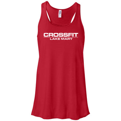 CrossFit Lake Mary - 100 - Standard - Bella + Canvas - Women's Flowy Racerback Tank