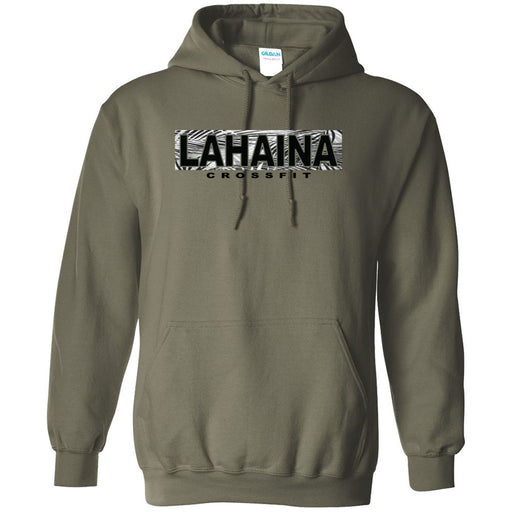 Lahaina CrossFit - 100 - Hawaii Army - Gildan - Heavy Blend Hooded Sweatshirt