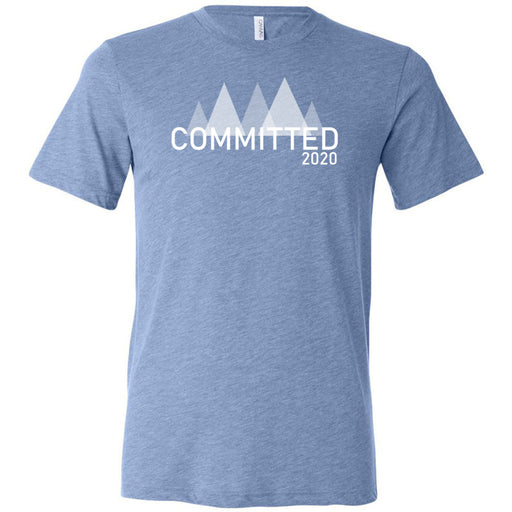 Badger CF - 200 - Committed - Bella + Canvas - Men's Triblend Short Sleeve Tee