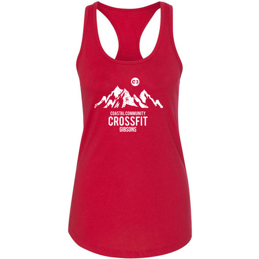 CrossFit Gibsons - 100 - Standard - Next Level - Women's Ideal Racerback Tank