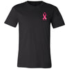 CrossFit Kaneohe - 100 - Breast Cancer Awareness - Bella + Canvas - Men's Short Sleeve Jersey Tee