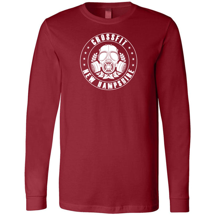 CrossFit New Hampshire - 202 - CFNH Oxygen - Bella + Canvas 3501 - Men's Long Sleeve Jersey Tee