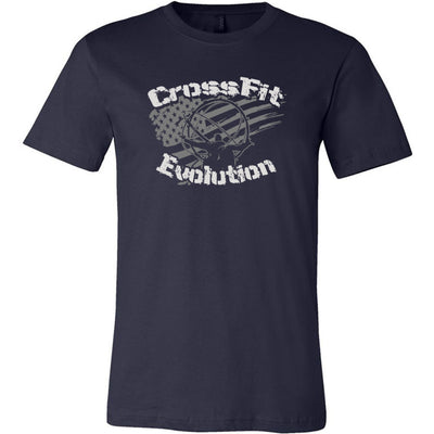 CrossFit Evolution - 200 - Atlas - Bella + Canvas - Men's Short Sleeve Jersey Tee