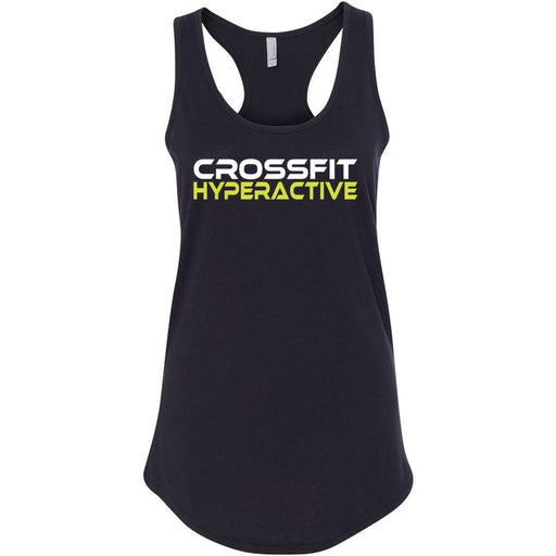 CrossFit Hyperactive - 100 - Standard - Next Level - Women's Ideal Racerback Tank