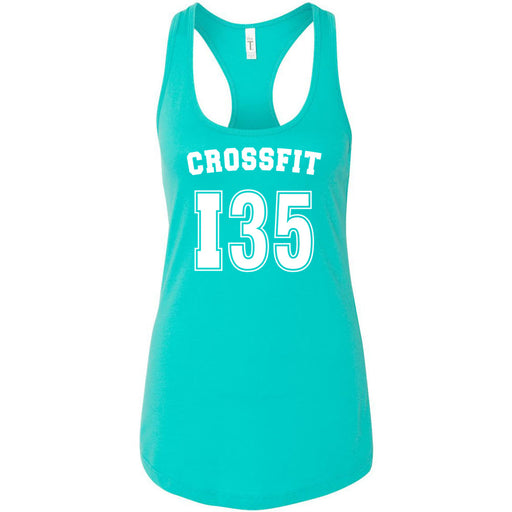 CrossFit I35 - 100 - Athletic - Next Level - Women's Ideal Racerback Tank