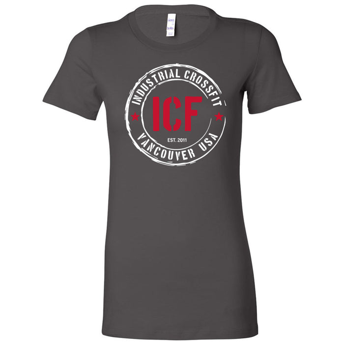 Industrial CrossFit - 100 - Standard - Bella + Canvas - Women's The Favorite Tee