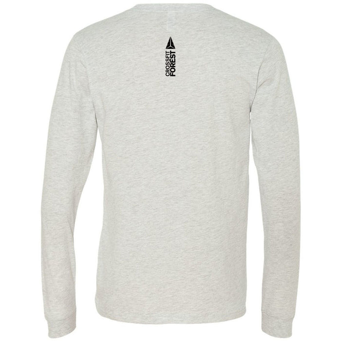 CrossFit Forest - 202 - Forest - Bella + Canvas 3501 - Men's Long Sleeve Jersey Tee