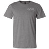CrossFit Lodo - 100 - Pocket - Bella + Canvas - Men's Short Sleeve Jersey Tee