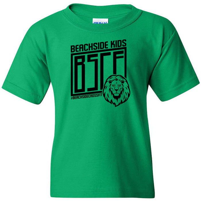 BeachSide CF Kids - 100 - Green Lion - Gildan - Heavy Cotton Youth T-Shirt