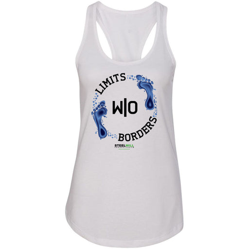 Steel Mill CrossFit Fleming Island - 100 - Limits Without Borders - Next Level - Women's Ideal Racerback Tank