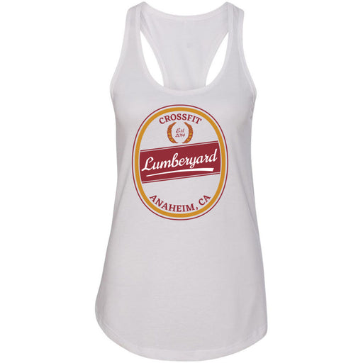 CrossFit Lumberyard - 100 - Crafted - Next Level - Women's Ideal Racerback Tank