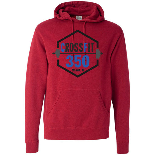 CrossFit 350 - 100 - Standard - Independent - Hooded Pullover Sweatshirt