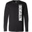 Crossfit Bensalem - 100 - Vertical - Bella + Canvas 3501 - Men's Long Sleeve Jersey Tee