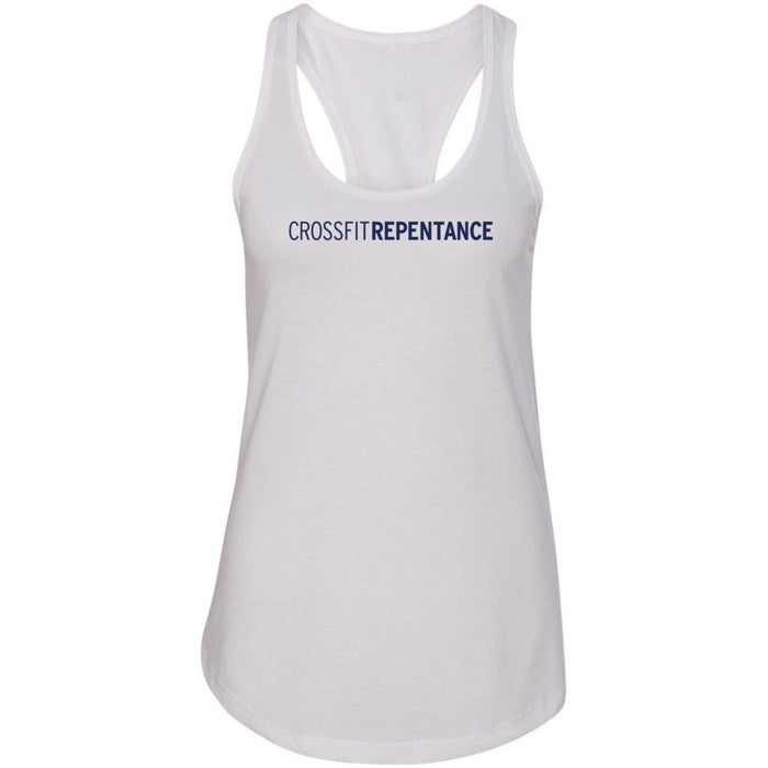 CrossFit Repentance - 100 - No Icon - Next Level - Women's Ideal Racerback Tank