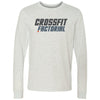 CrossFit Factorial - 100 - Standard - Bella + Canvas 3501 - Men's Long Sleeve Jersey Tee