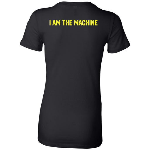 CrossFit ThunderHawk - 200 - I Am The Machine - Bella + Canvas - Women's The Favorite Tee