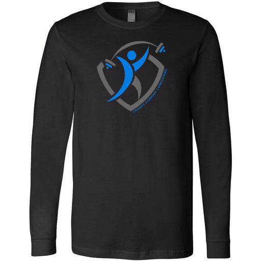 CrossFit Constant Conditioning - 100 - Design 1 - Bella + Canvas 3501 - Men's Long Sleeve Jersey Tee