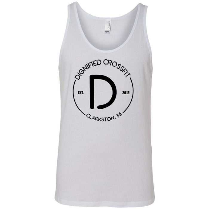 Dignified CrossFit - 100 - Standard - Bella + Canvas - Men's Jersey Tank